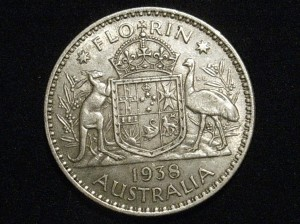1938 Florin VF reverse (true to life)