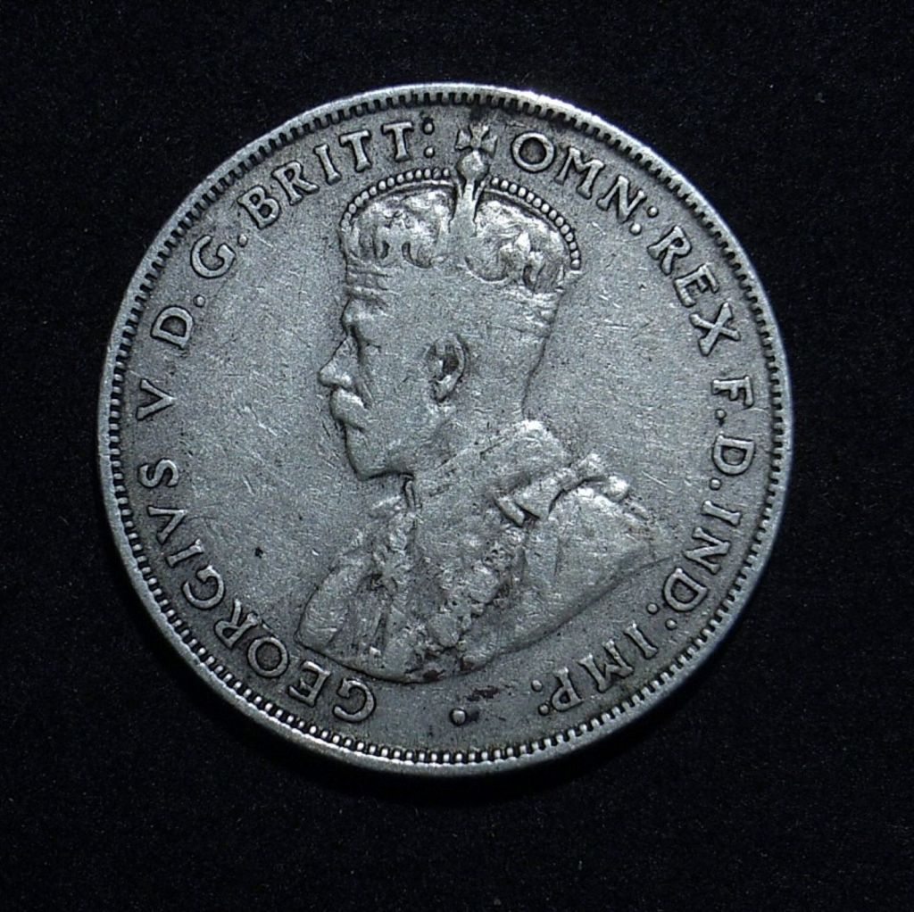 1931 Florin obverse in F
