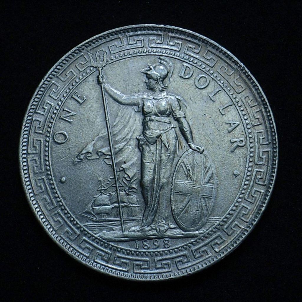 UK Trade Dollar 'cool daylight'