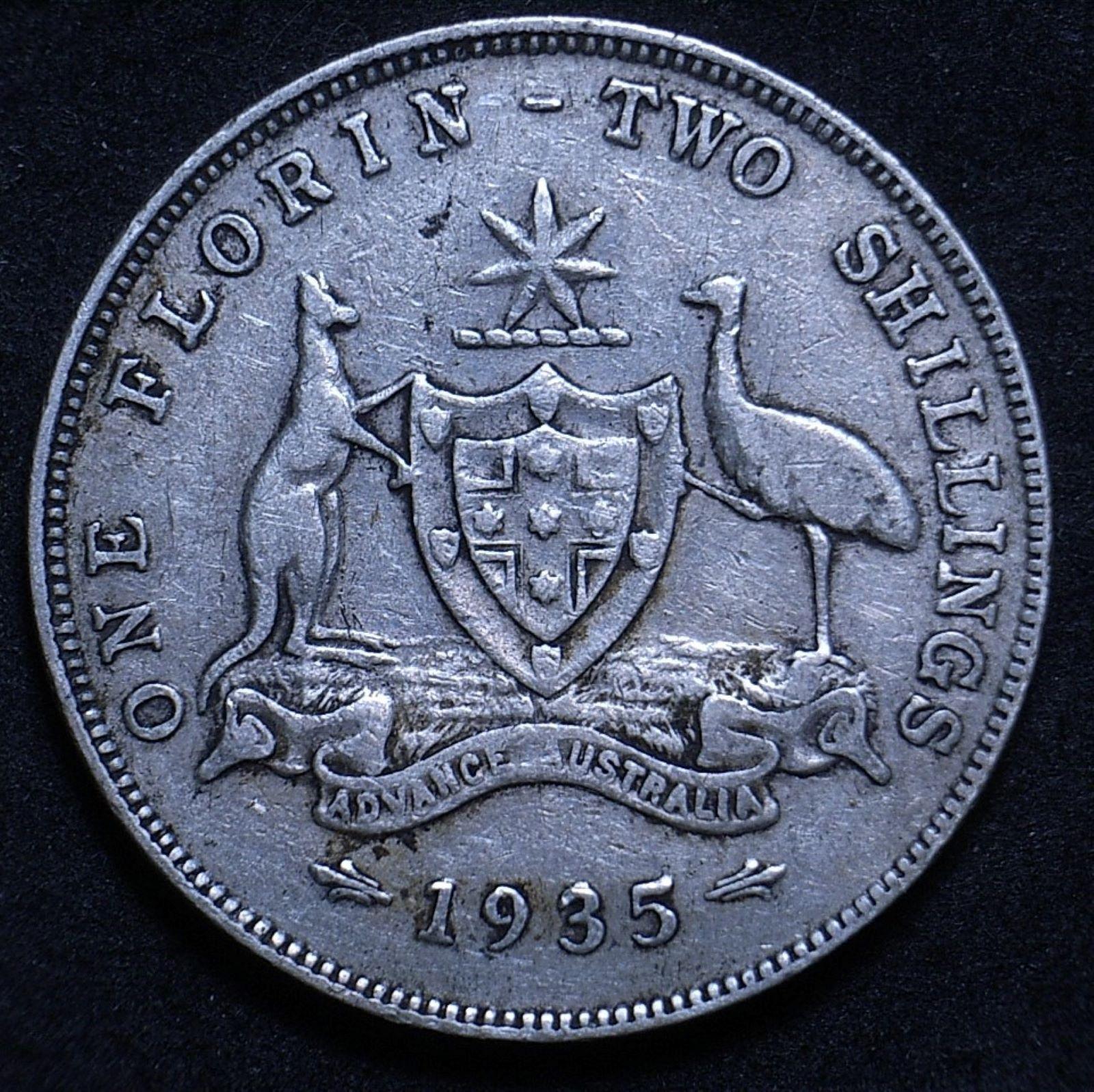Aus Florin 1935 rev 1