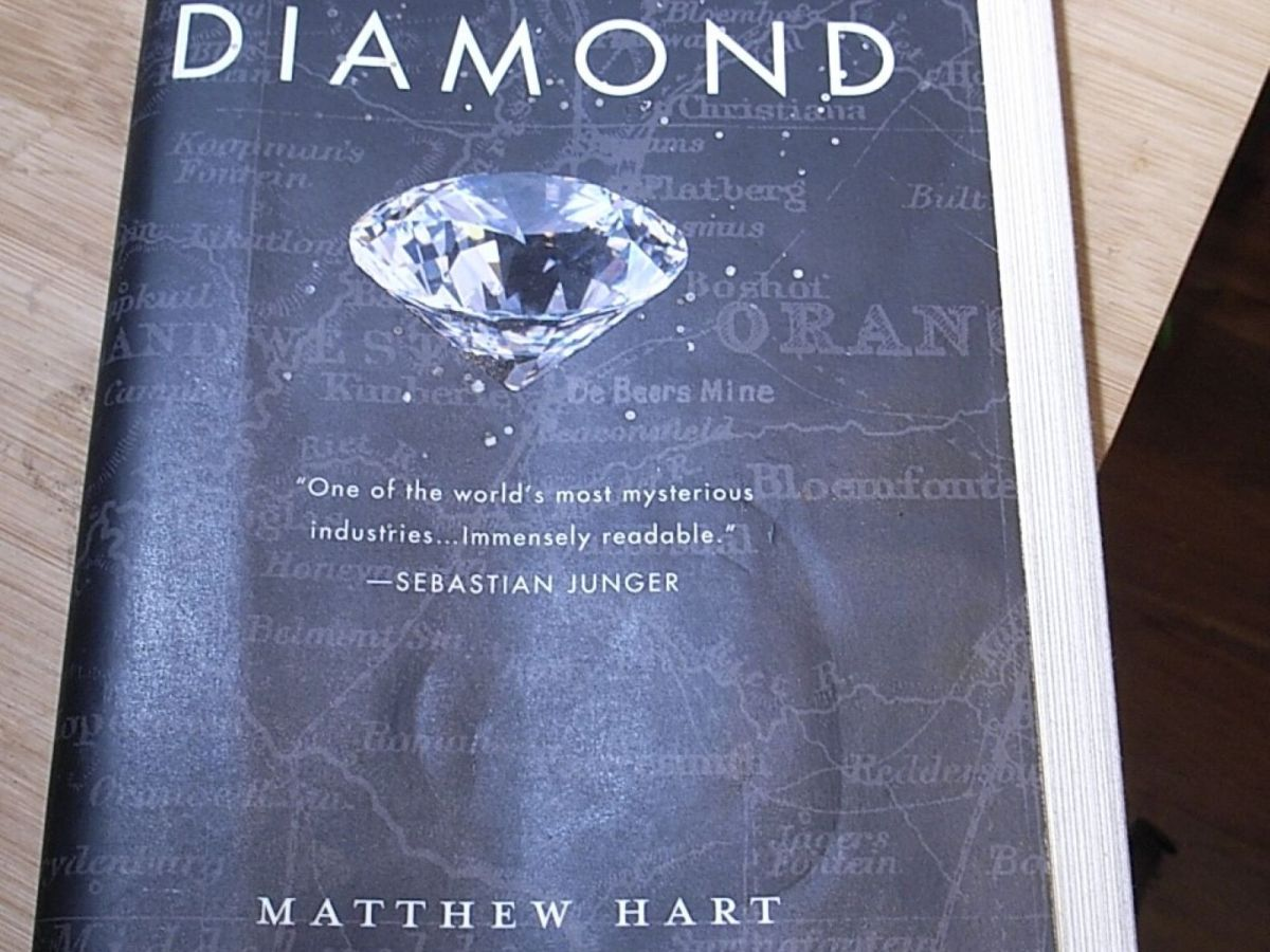 Front cover of Diamond by M Hart