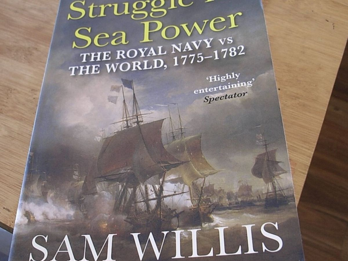Front cover of S Willis 'Struggle for Sea Power'