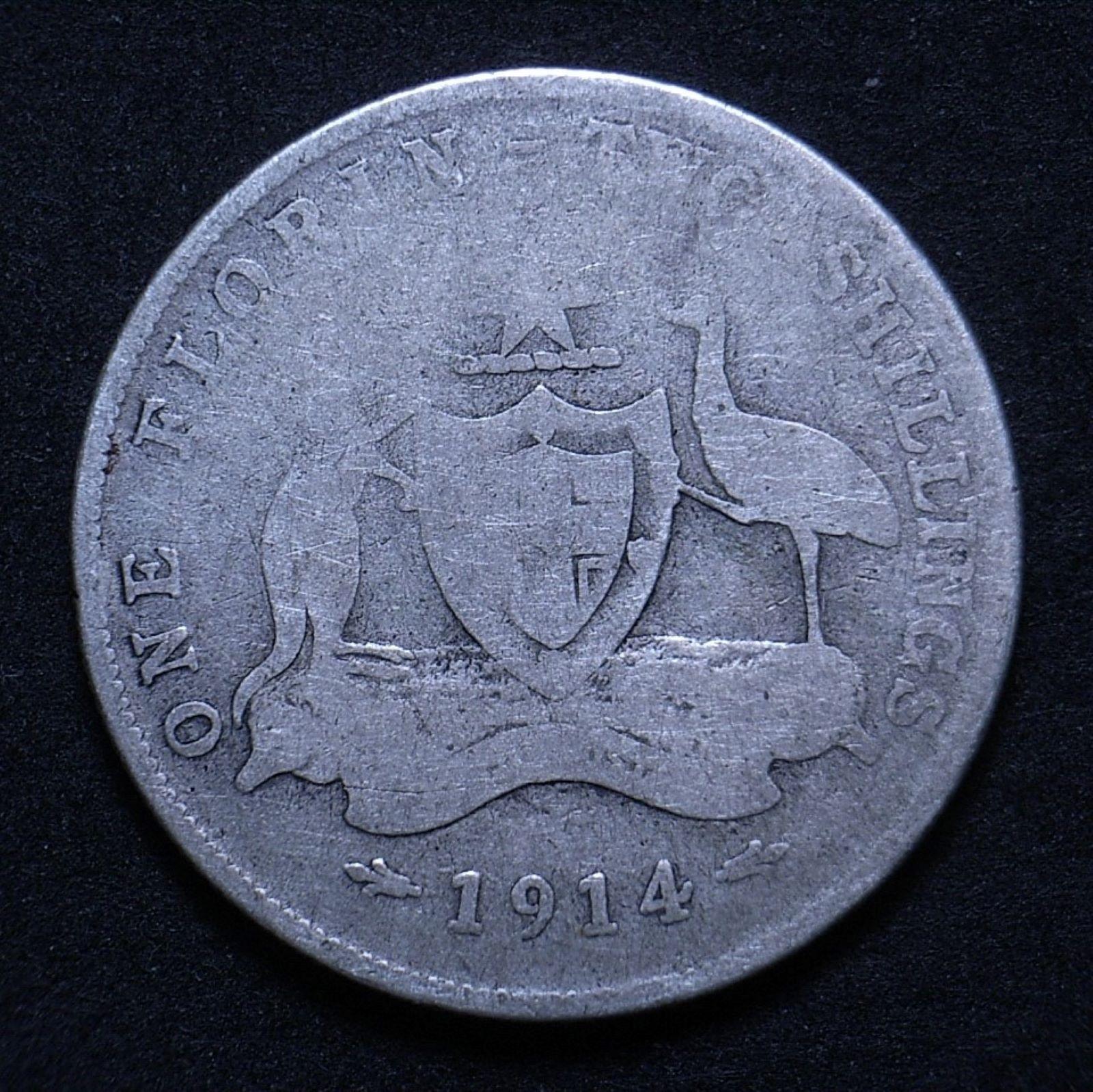 Aus Florin 1914 rev 1