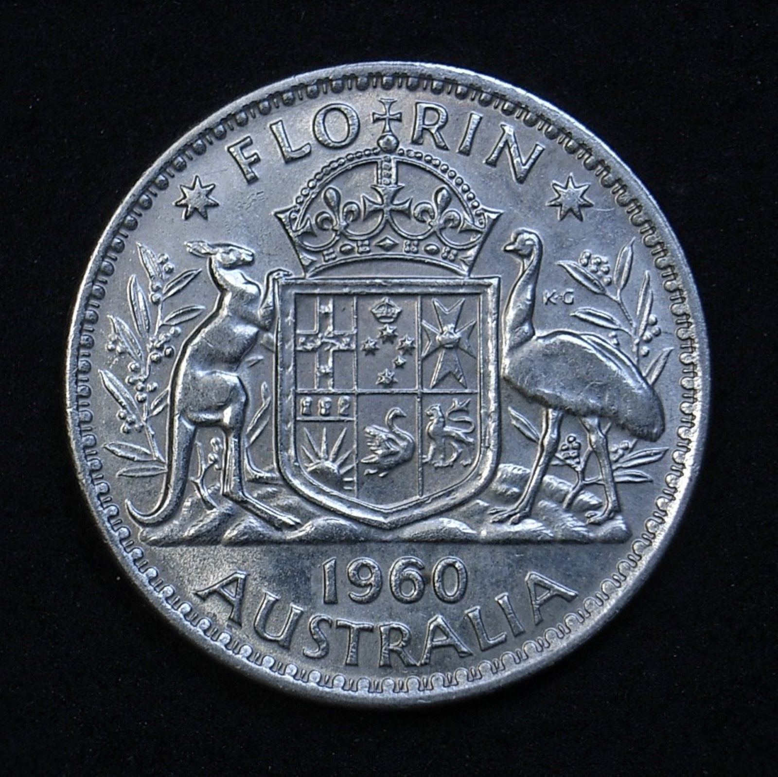Aus Florin 1960 rev 1