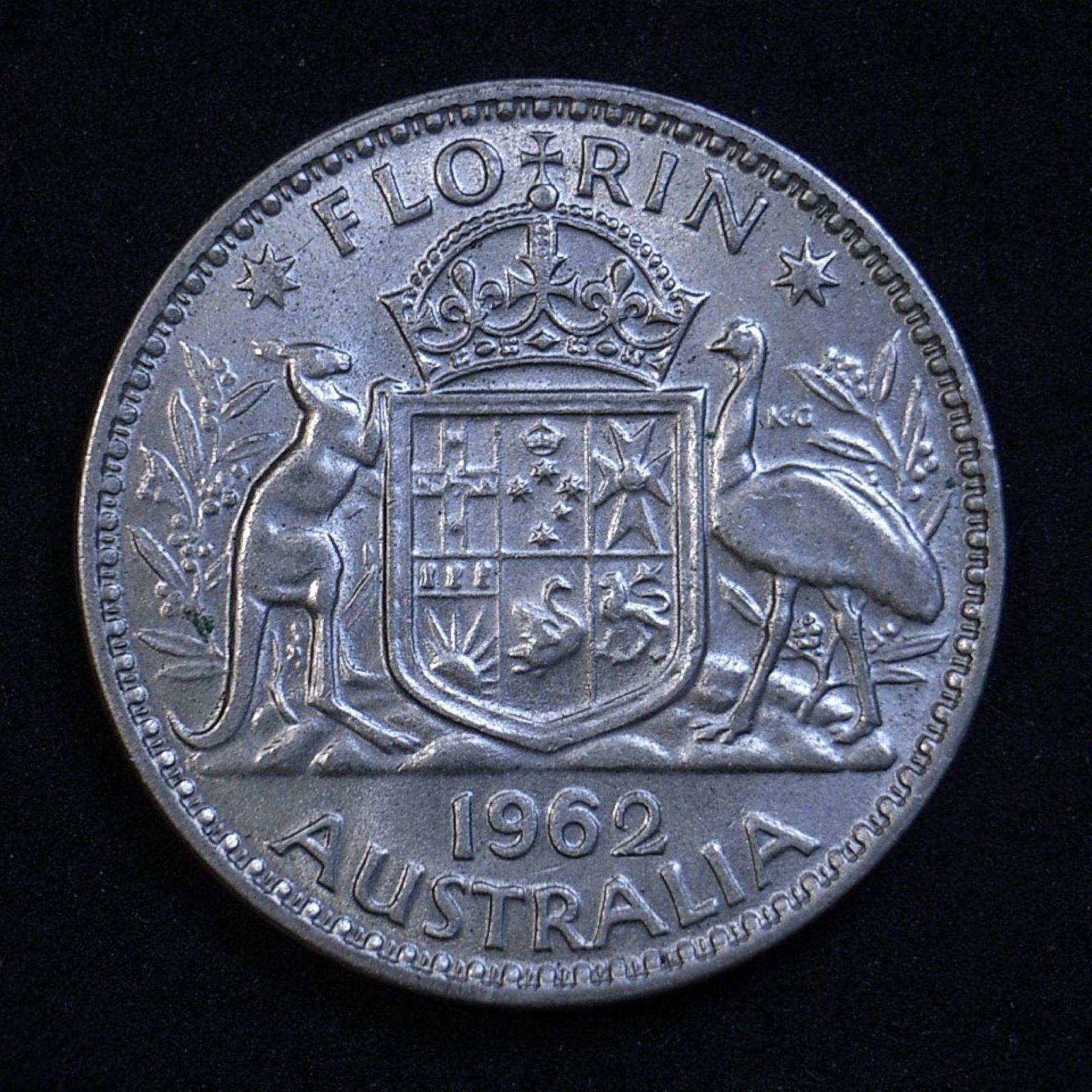 Aus Florin 1962 rev 1