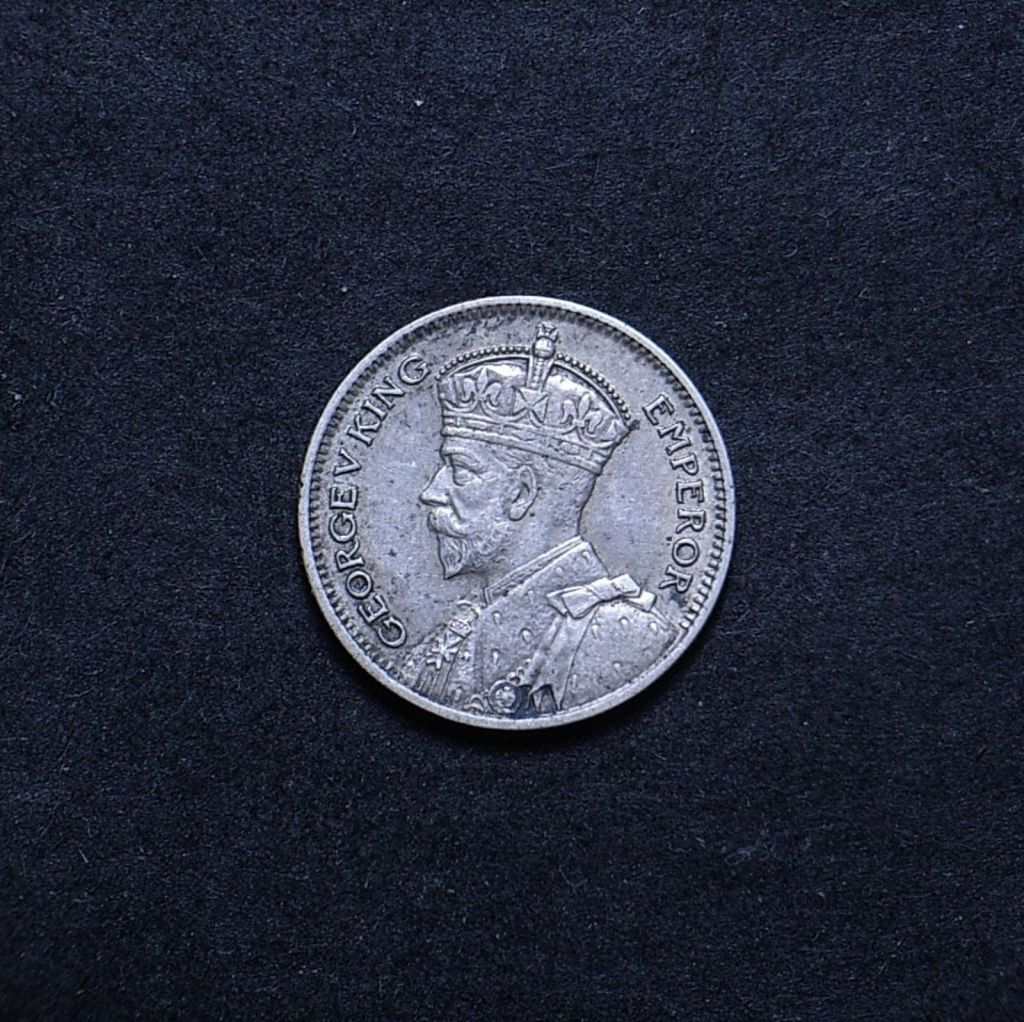 NZ 6d 1933 obverse showing overall appearance
