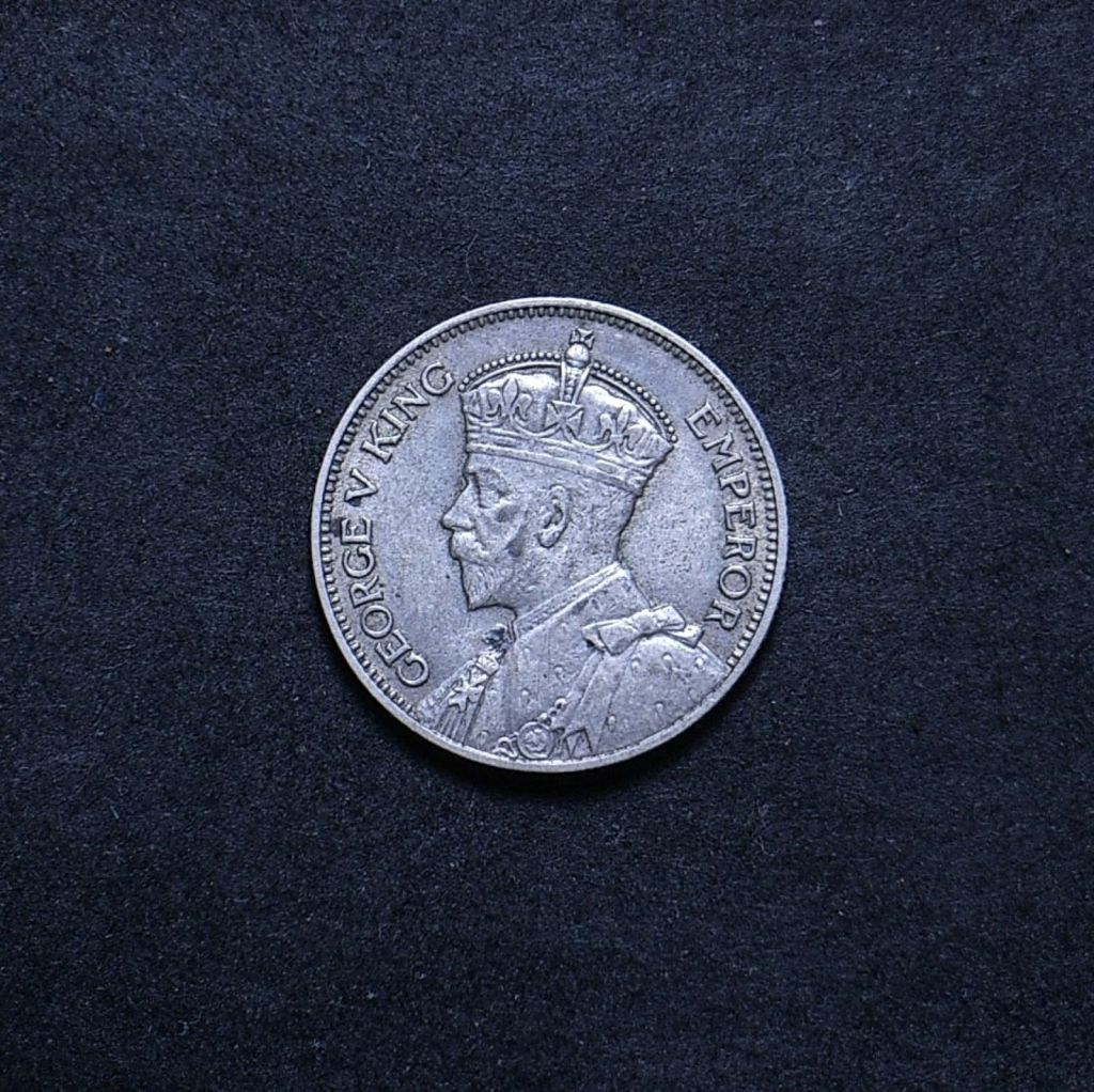 NZ Shilling 1934 obverse showing overall appearance
