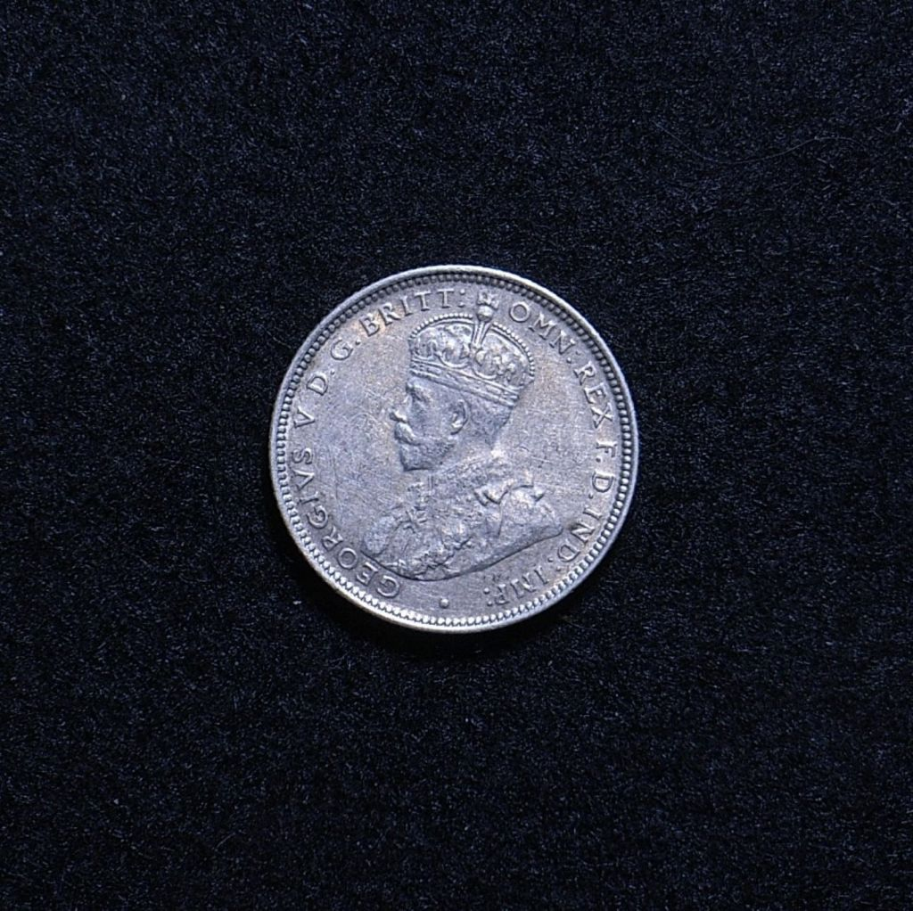 Aus Shilling 1926 obverse showing overall appearance