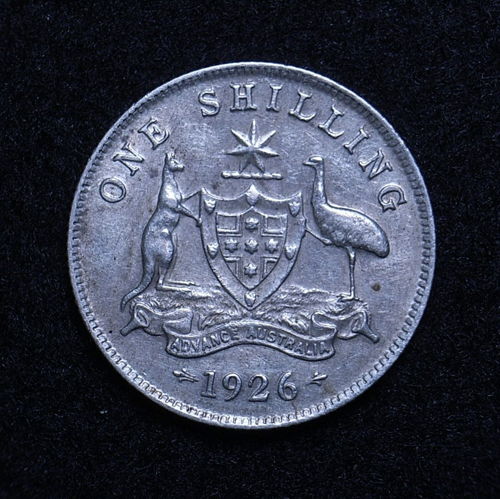 Aus Shilling 1926 rev 1