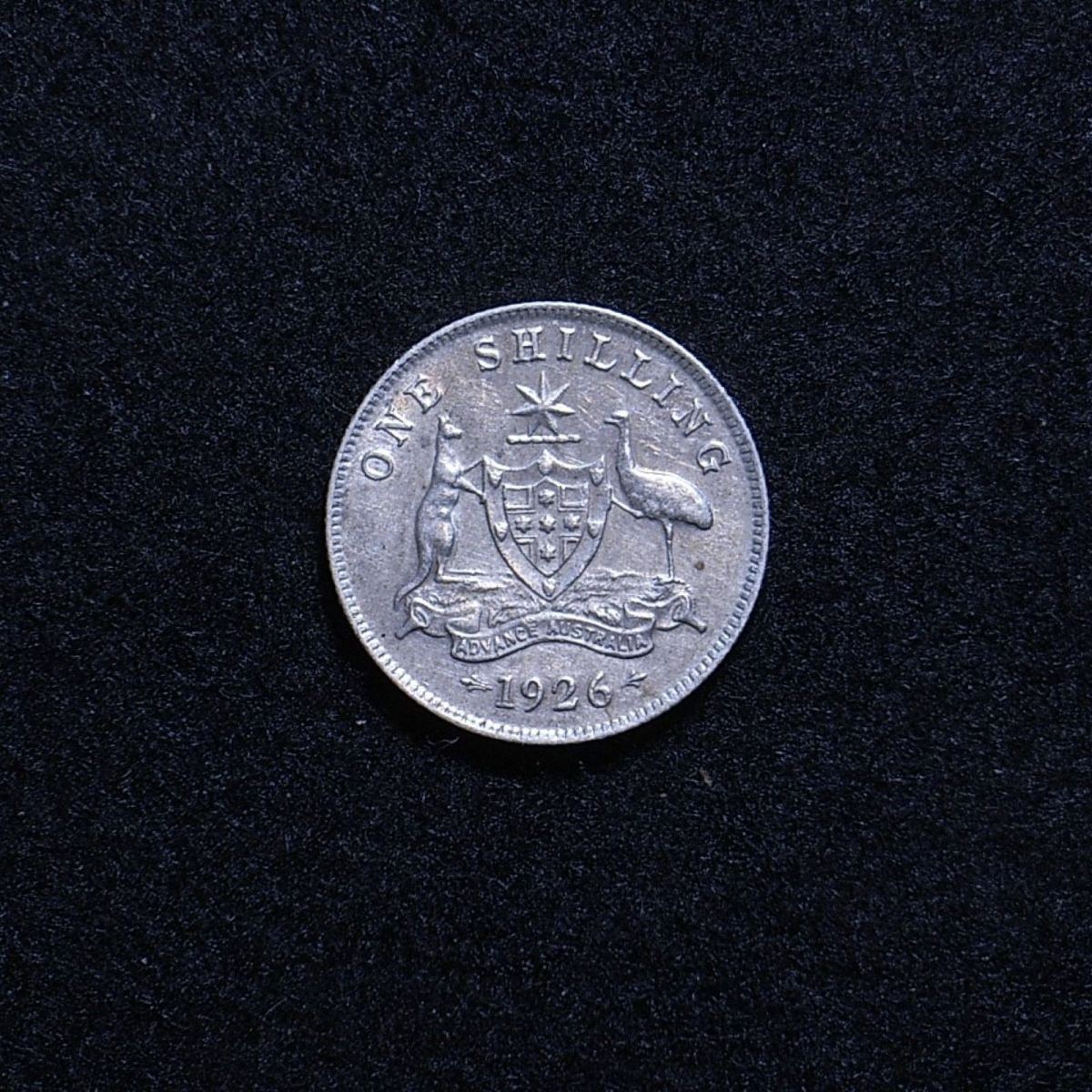 Aus Shilling 1926 reverse showing overall appearance