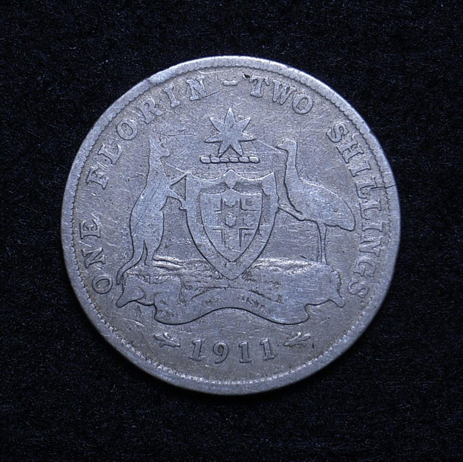 Aus Florin 1911 rev 1
