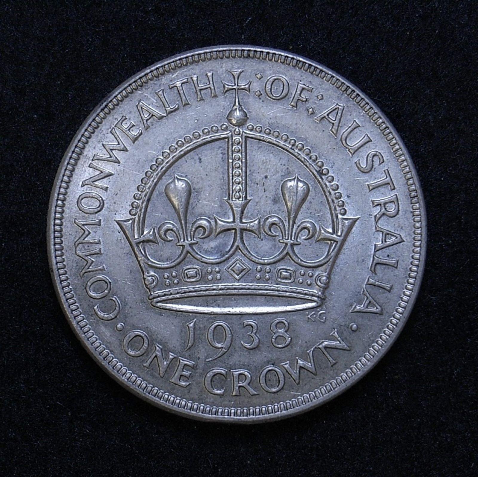 Aus Crown 1938 rev