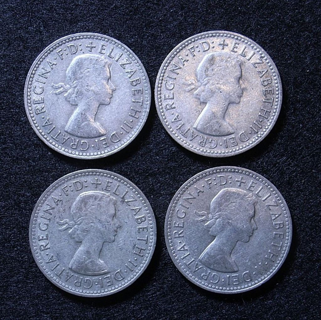 Close uo Aus Shillings 60s obverse