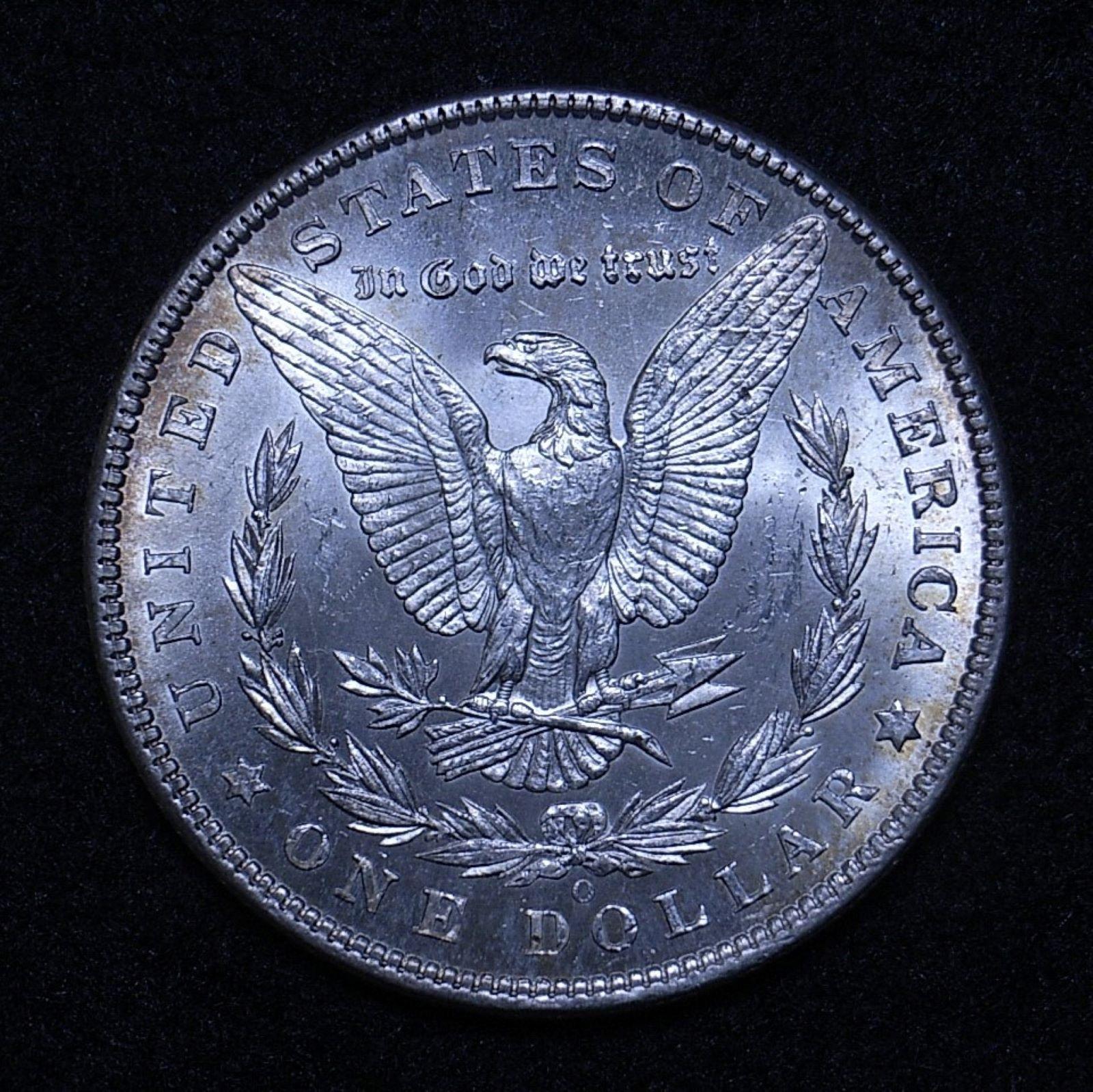 US Morgan Dollar 1902-O rev 1