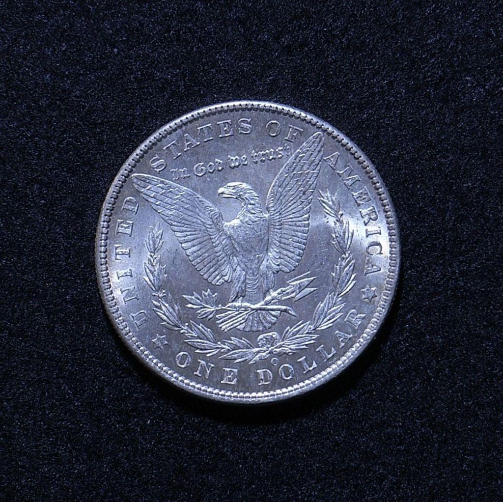 US Morgan Dollar 1902-O rev