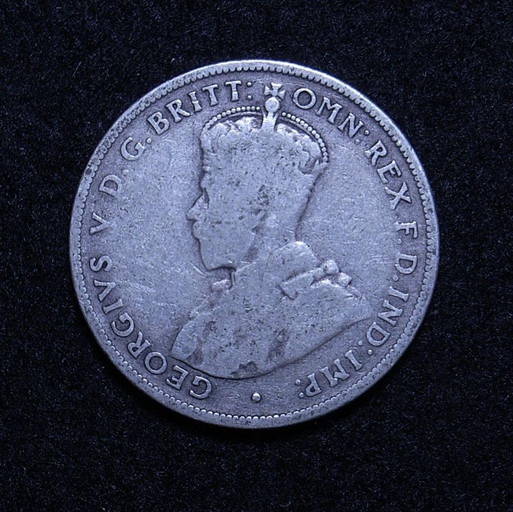 Aus Florin 1922 obverse