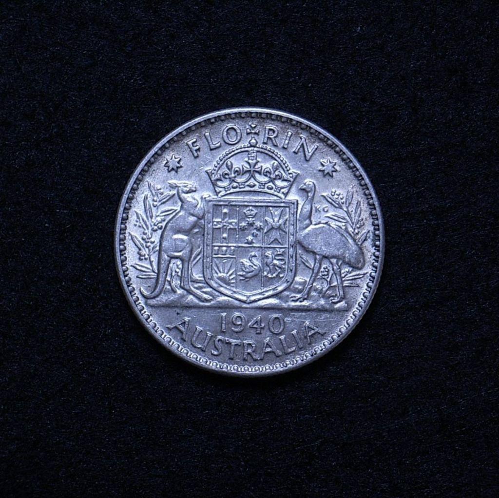 Aus Florin 1940 reverse