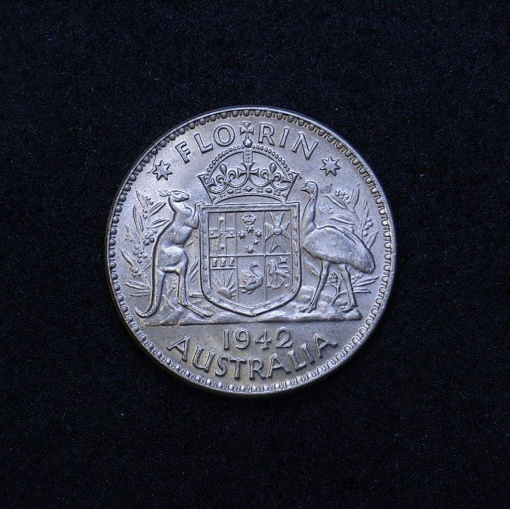 Aus Florin 1942 reverse