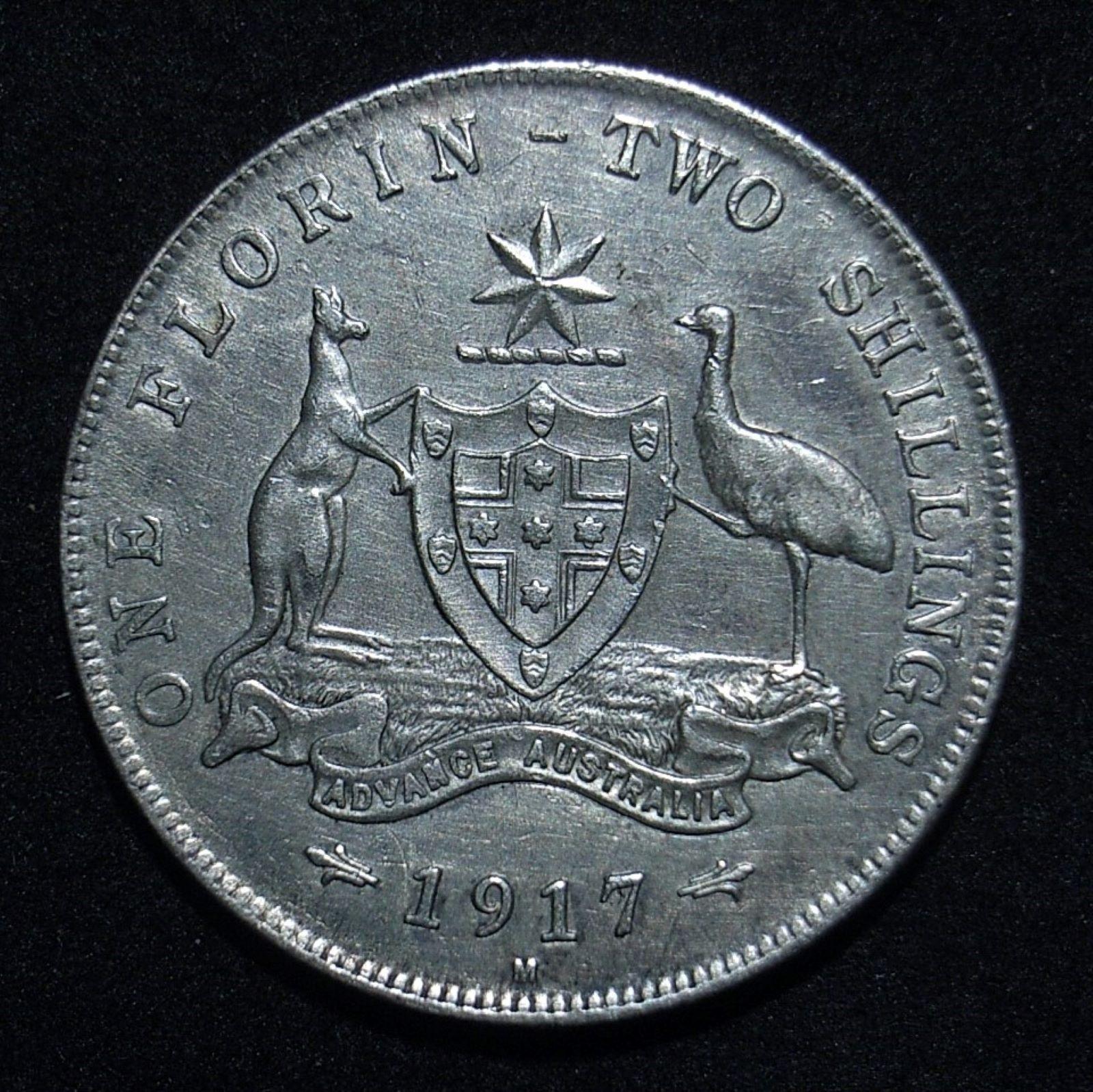 Florin 1917m rev 2