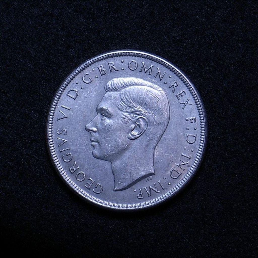 Aus Crown 1937 obverse