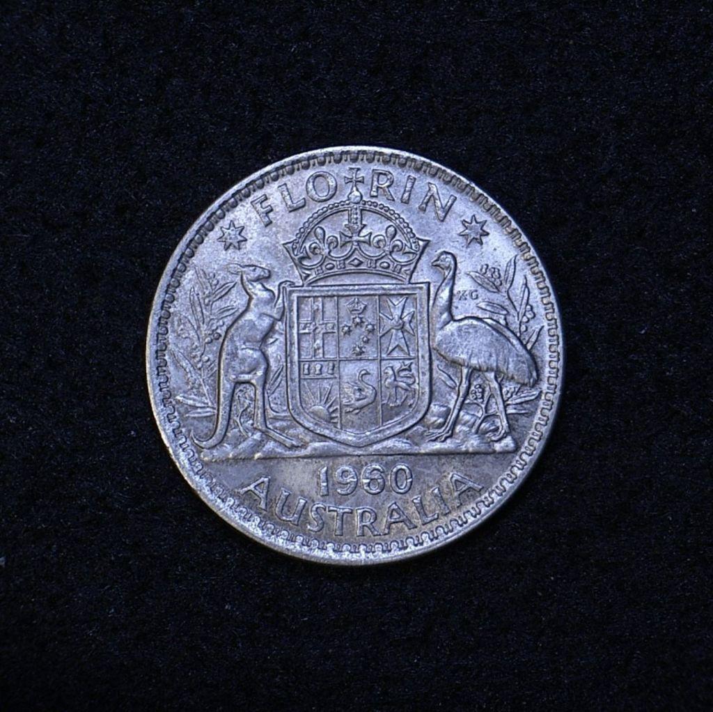 Aus Florin 1960 reverse