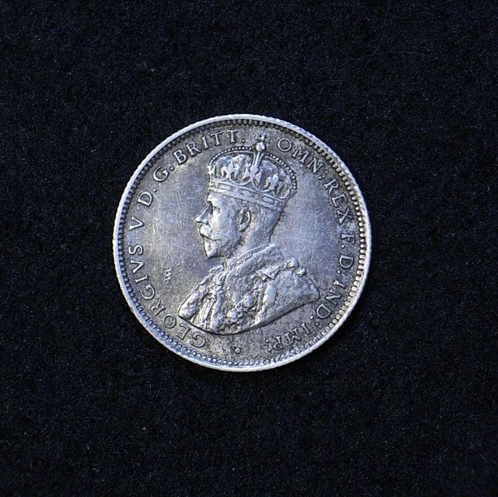Aus Shilling 1925 obverse