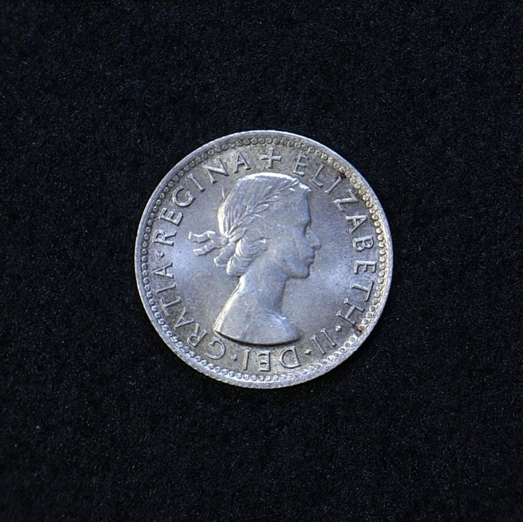 Aus Shilling 1954 obverse