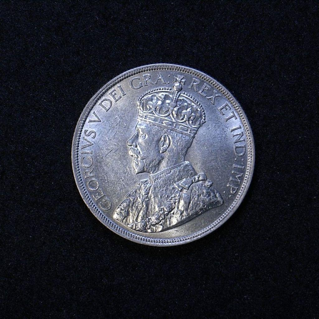 Canada Dollar 1936 obverse