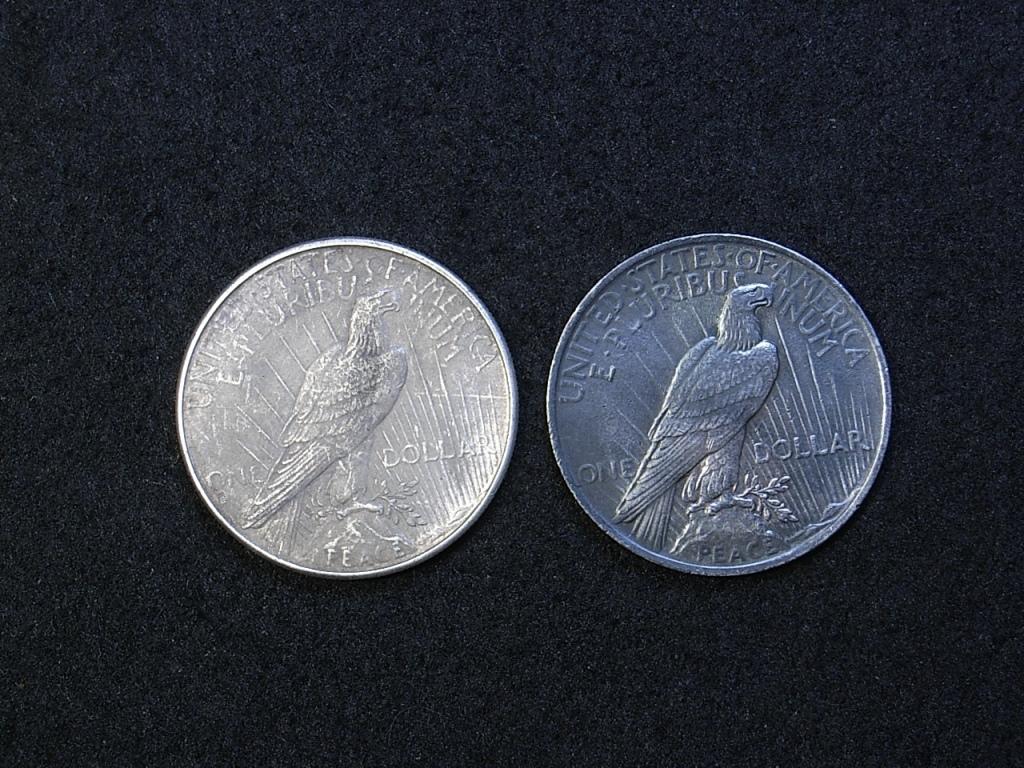 US Peace Dollars reverse 1