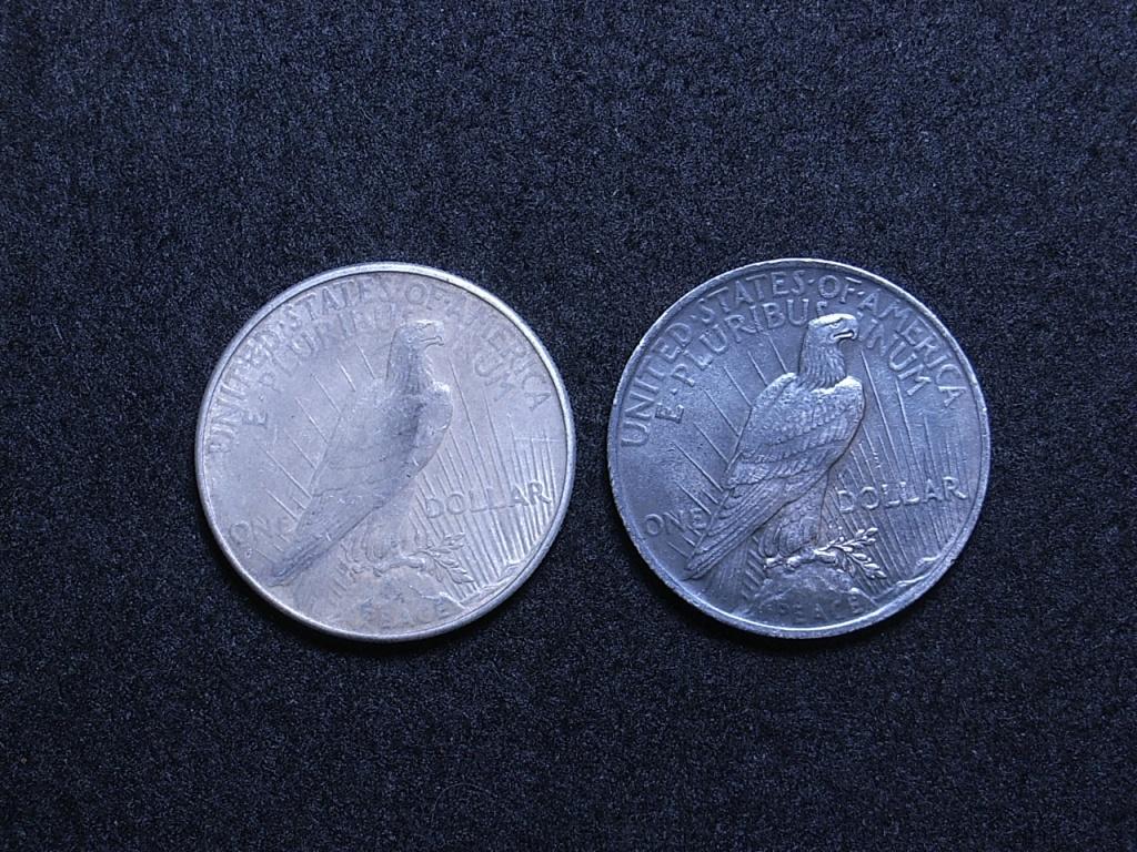 US Peace Dollars reverse