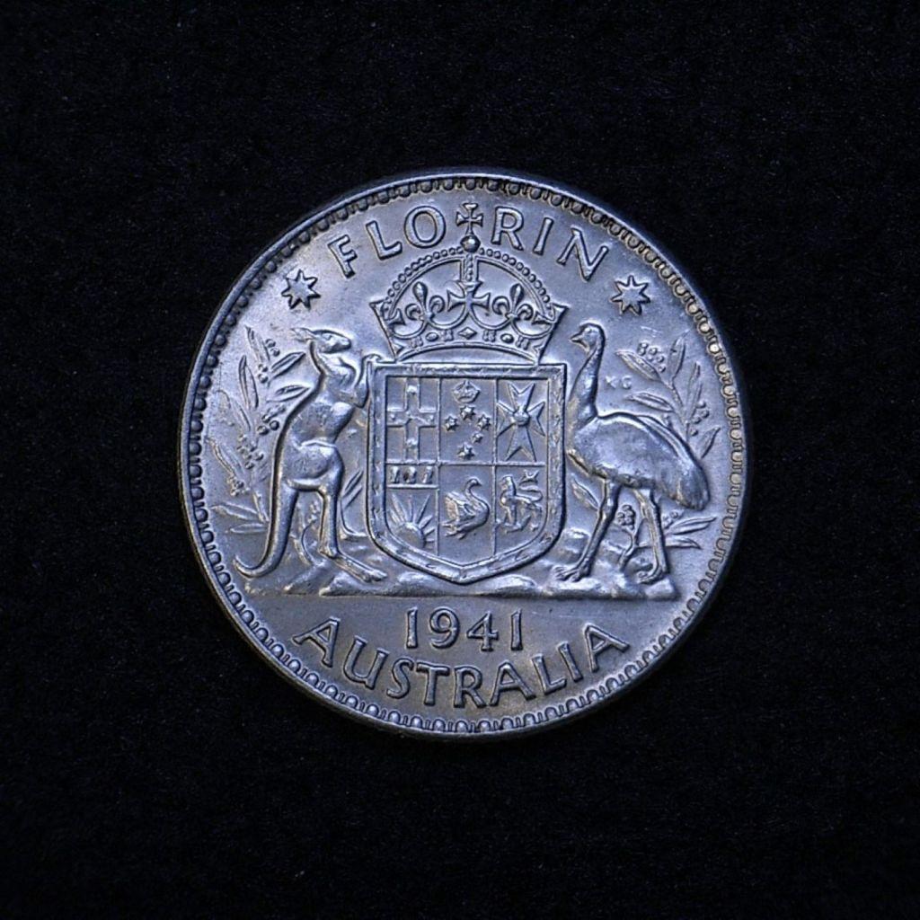 Aus Florin 1941 reverse